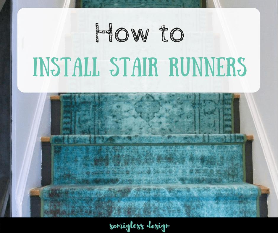How To Install Stair Runners Using Regular Runner Rugs   Stair Runners For Sale   Flooring   Stair Tread   Rug   Stair Carpet Runners   Tartan