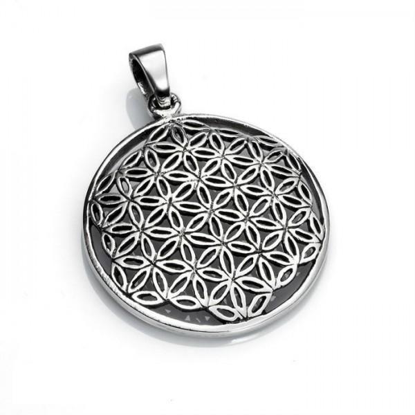 ¿Conoces La Flor de la vida en plata?