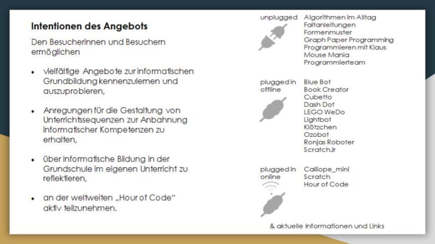 Hour of Code Mitmach-Ausstellung Seminar Nürtingen