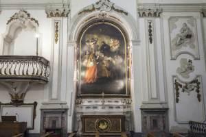 Chiesa Santa Maria in Monte Oliveto -Cappella Laterale destra- Seminario Arcivescovile di Palermo