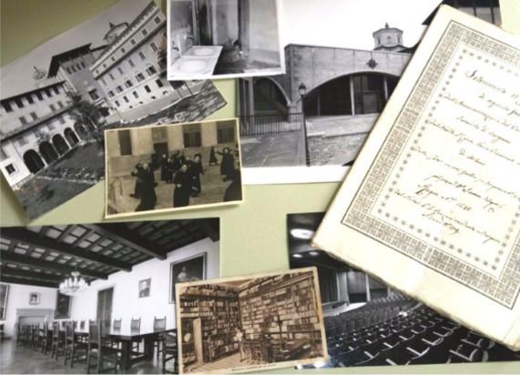 Foto varie durante la ricostruzione