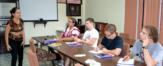 CALL Receives Students from PLNU and NNU