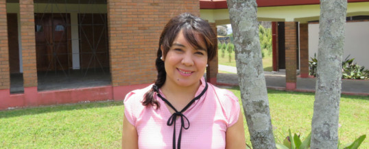 Sendas welcomes new volunteer missionary Jenny Díaz Moreno