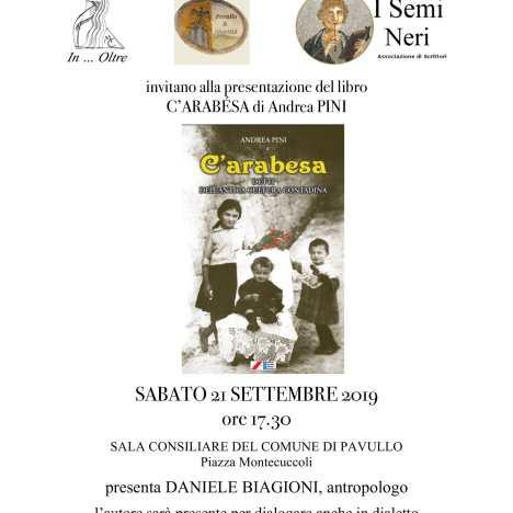Domenica 13 ottobre la storia di Gherardo Boccabadati al Circolo degli Artisti