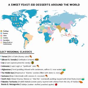 Eid Desserts Around the World
