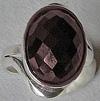 ring met granaat
