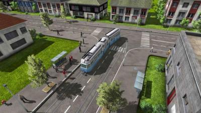 Bon, il y a aussi des trams, pas que des camions et des trains...