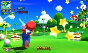 Mario Golf_World Tour Nice shot! 3DS