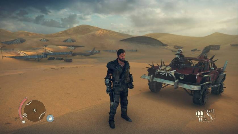 Landscape Mad Max PS4