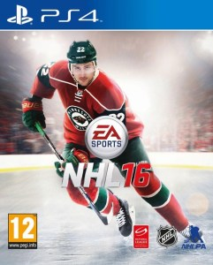 NHL 16 cover ps4