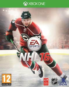 NHL 16 cover Xbox One