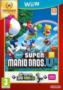 New Super Mario Bros U Wii U Cover