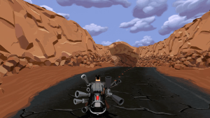 Full Throttle Remastered PC moto