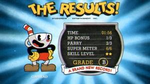 Cuphead Xbox One score