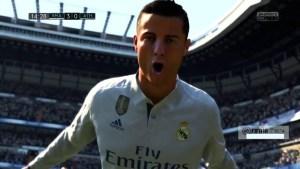 FIFA 18 ps4 Ronaldo