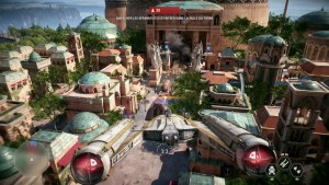 Star Wars Battlefront 2 PC Theed Ywing