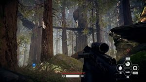 Star Wars Battlefront 2 PC Village ewoks
