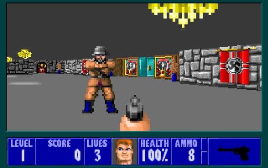 Le bisaïeul: Wolfenstein 3D