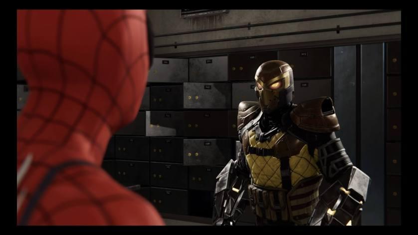 Shocker Spider-Man PS4