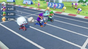 Super Mario Party Switch course de tricycle