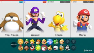 Super Mario Party Switch personnages