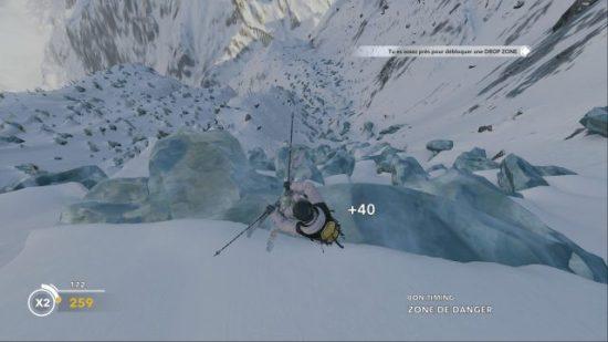 Coup de boule dans les glaciers! 100% adrénaline et fun!