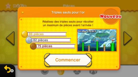 New Super Mario Bros U Deluxe Switch défis