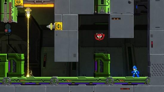 Mega man 11 Switch chauve souris