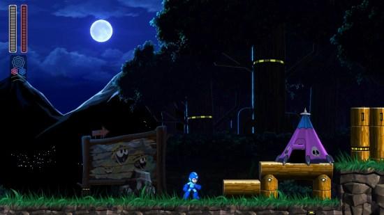Mega man 11 Switch décors
