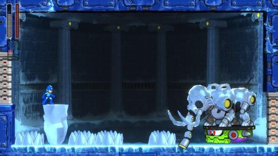 Mega man 11 Switch mini boss