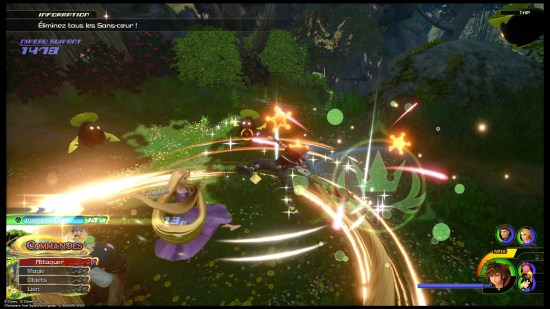 Kingdom Hearts 3 PS4 couleurs