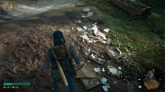 DAYS GONE PS4 déchêts