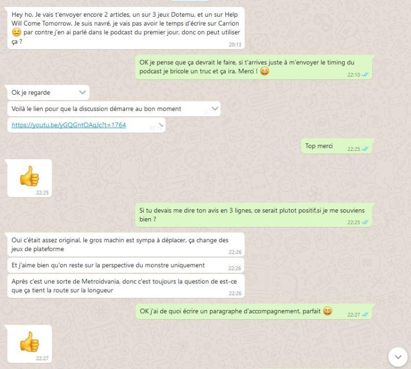 Carrion Capture whatsapp