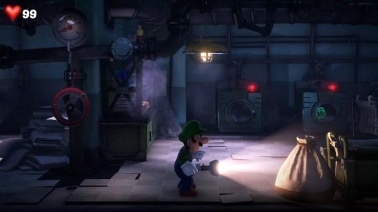 Luigi's Mansion 3 ambiance
