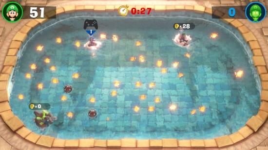 Luigi's Mansion 3 piscine