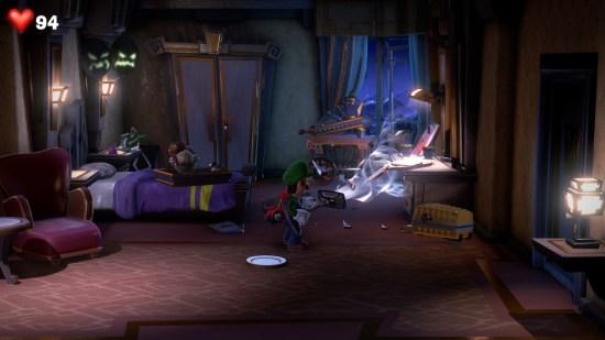 Luigi's Mansion 3 tout aspirer