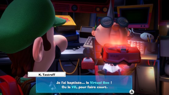Luigi's Mansion 3 virtual boo