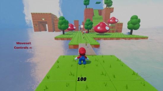 Dreams PS4 Super Mario