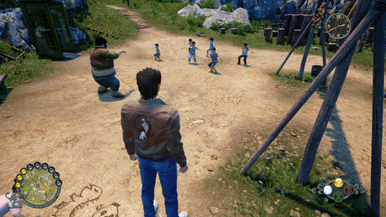 Shenmue III Tai chi école