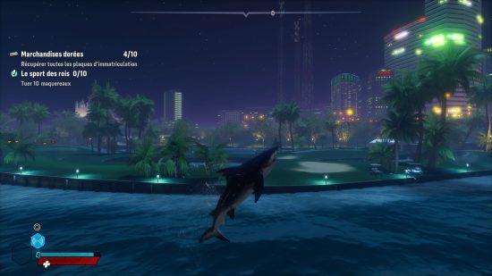 Maneater PS4 saut