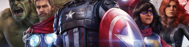 Marvel's avengers PS4 couverture