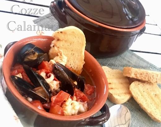 Zuppa di Cozze e Calamari