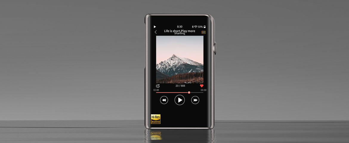 Shanling M2X Portable Hi-res Audio-Player