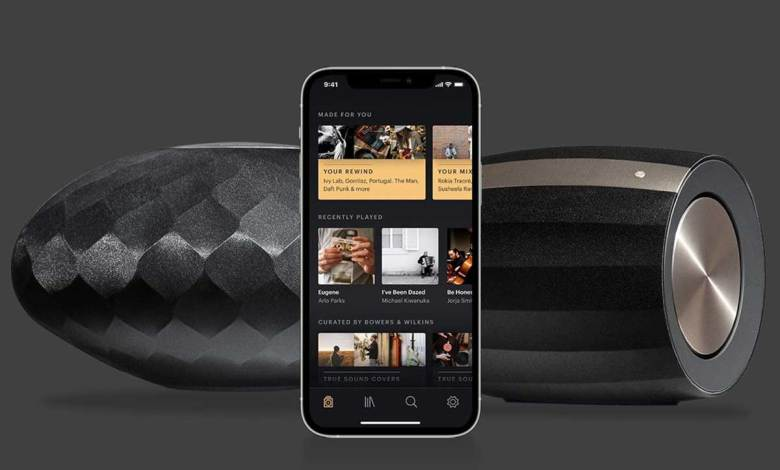 Bowers & Wilkins Music App für Bowers & Wilkins Formation Series