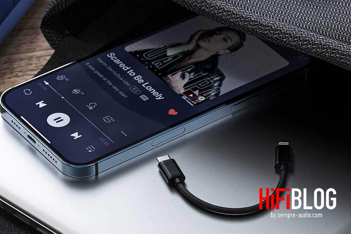 FiiO LT-LT1 USB Type C to Lightning Data Cable
