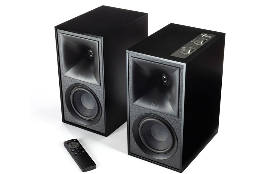 Klipsch The Fives Powered Monitors Active Wireless Speaker 06