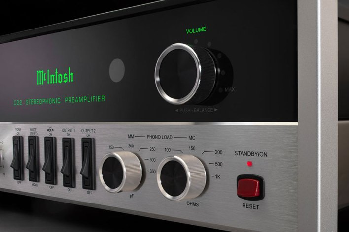 McIntosh C22 2 Channel Vacuum Tube Preamplifier Mk V 01