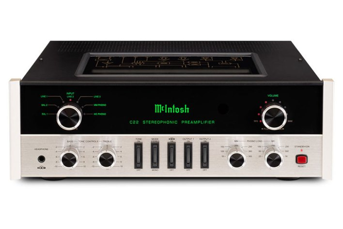 McIntosh C22 2-Channel Vacuum Tube Preamplifier Mk V