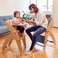 QuarttoLino Kinderhochstuhl - Multitalent für die Kleinsten