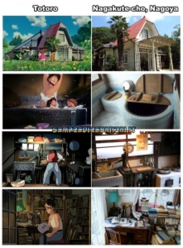 12 luoghi dei film Ghibli che esistono veramente